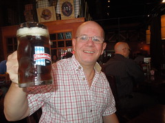 September 26 Larry with a big beer in Chattanooga (litlesam1) Tags: chattanooga beer tennessee larry 365year4 vacationinthesouthsept2012