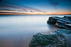 let it lead (tom fincher) Tags: ocean morning sea sunrise dawn coast fife forth northsea standrews crail kingsbarns eastneuk