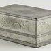 284. Signed Chinese Pewter Lidded Tea Box