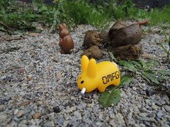 "Smorkin' Labbit "" OMFG! That Stinks! "" By Kozik (Damien Saint-é) Tags: art toy toys design vinyl kidrobot kozik smorkin labbit"