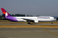 Hawaiian Airlines Boeing 767-3G5(ER) N586HA SEA 05-10-12 (Axel J.  Aviation Photography) Tags: sea airport aircraft aviation airline boeing flughafen seatac flugzeug aeropuerto flugplatz avion 767 airfield aviao aviones vliegtuig aviacin luftfahrt luchthaven seattletacoma hawaiianairlines fluggesellschaft