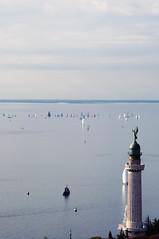 Barcolana '12 [+4] (bonfee_) Tags: sea italy lighthouse landscape faro boats nikon dslr trieste miramare barcolana d5000