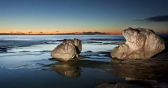 Turimetta sunrise, Sydney, Australia (twistednoodle) Tags: lightpainting reflection water sunrise northernbeaches turrimetta kathsalier