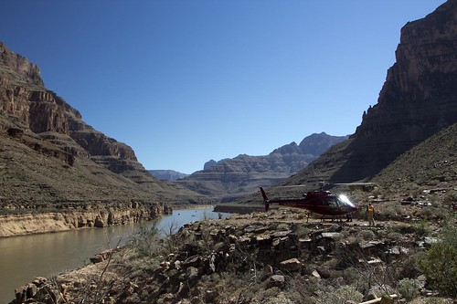 Colorado River Grand Canyon Helicopter L by big-ashb, on Flickr