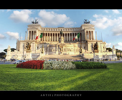 The Victor Emmanuel II Monument, Rome, Italy :: HDR (Artie | Photography :: I'm a lazy boy :)) Tags: italy rome monument museum architecture photoshop canon king engineering structure fisheye 15mm f28 ef hdr 1935 artie piazzavenezia altaredellapatria cs3 ilvittoriano capitolinehill vittorioemanueleii 3xp photomatix victoremmanuelii tonemapping tonemap museocentraledelrisorgimento 5dmarkii 5dm2