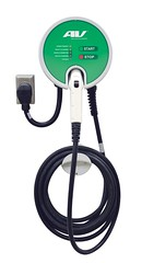 Electric Vehicle Charging Station from Aerovironment (Greenlivingguy) Tags: greencars electricvehicles electriccars greenbusiness