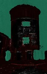 Schlo Laudon (hedbavny) Tags: vienna wien abstract tower castle night austria nacht digitalart abstraction turm mlleimer narrenturm penzing sehenswrdigkeit laudon digitalabstract 1140 schlos mistkbel sterreichaustria mauerbach hadersdorf schlosslaudon mauerbachstrase htteldorffotobearbeitung