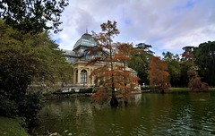 Crystal Palace, Madrid's Buen Retiro Park (Enrique Cspedes) Tags: madrid autumn crystalpalace buenretiropark