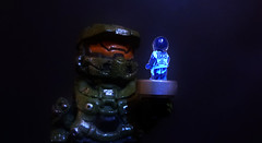 LEGO Halo 4 - Green & Blue (MGF Customs/Reviews) Tags: up john dawn war wake lego infinity chief 4 halo games master requiem figures forward the cortana unto unsc didact prometheans
