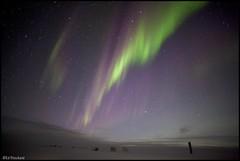 The Lights Were On Again This Morning (Ed.Stockard) Tags: sky snow ice night dawn glacier arctic aurora greenland summit northernlights auroraborealis summitstation icesheet