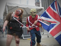 eddie the head (Mr.  Mark) Tags: halloween monster rock photo costume scary funny mask zombie stock makeup heavymetal parade creepy brains ironmaiden eddiethehead markboucher torontozombiewalk2012