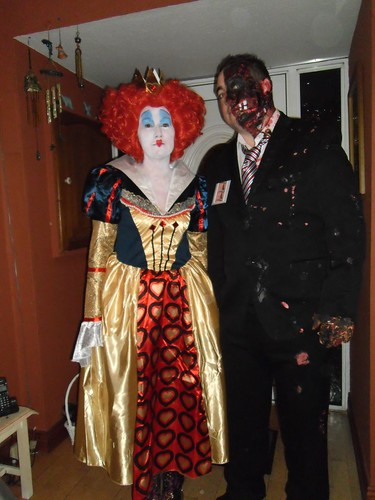 My daughter and her husband dressed up for Halloween
