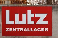 Wels (austrianpsycho) Tags: sign wall schild xxx lager mauer lutz wels xxxlutz zentrallager