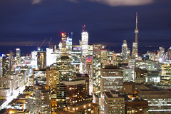 Lights of Toronto (Génial N) Tags: toronto ontario canada pentax citylights nightlight pentaxkr