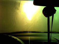 just cause (jessiefish) Tags: dice car trapped kia picanto marikina katipunan bagyo shoppersville