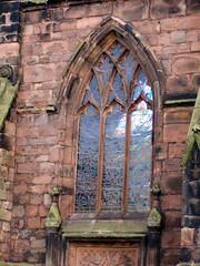 Nantwich - Nov 2009 (DizDiz) Tags: england window cheshire buttresses nantwich olympusc720uz