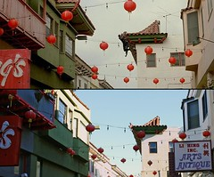 Lethal Weapon 4 (On Location in Los Angeles) Tags: losangeles chinatown melgibson location hollywood filming jetli dannyglover chrisrock joepesci renerusso