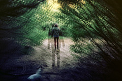 Time We Left (nico.padayhag) Tags: sf trees portrait blur film nature 35mm doubleexposure ripple multipleexposure doubleexposed