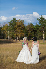 Hand in Hand (Lisa | Redfern Photography) Tags: field meadow banff