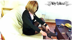 108 (Lily Blinz) Tags: france cute french tv lily cd tgirl transgender teen tranny transvestite heel trans trav fr crossdresser crossdress ts tg travesti crossdressed collant blinz transgenre