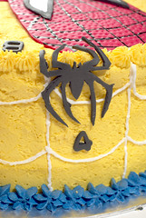 Spiderman Cake Ethan IV (Doha Sam) Tags: birthday cake colorperfect colorpos cooking d80 diffuser digital doha flash home indoors lp160 lumopro maketiff nikon party perfectraw qatar raw red samagnew spiderman strobist studio umbrella white yellow smashandgrabphotocom wwwsamagnewcom