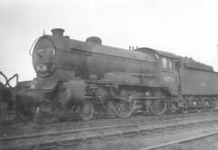 62734 Carlisle Canal 1955 (john.sargent.2009) Tags: carlisle steamlocomotive lner 62734 d49class carlislecanalengineshed