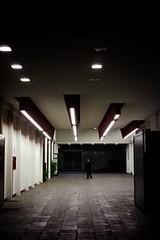 345/365(+1) - EXPLORED - January 22, 2013 #164 (Luca Rossini) Tags: new city light urban man rome color architecture modern night 35mm project dark walking hall market sony voigtlander corridor 365 f25 skopar testaccio voigtlandercolorskopar35mmf25 mmountadapter nex7 3651daysofnex7 366nexblogspotcom