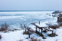 Have a seat (Hkan Dahlstrm) Tags: winter sea snow ice table se frozen skne sweden cropped sverige resund landskrona fav10 f32 2013 skneln labodarna canoneos5dmarkii sek ef40mmf28stm 1327012013160442