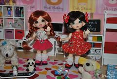 Mami, mami, nos has hecho ms ropita? (Ming-Shu) Tags: dolls amy handmade clothes tiny bjd fairyland ceres ante vestidos ropita pongpong tiernitos pkf mingshu pukifee