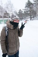 Asahiyama Zoological park (Daniel Shi) Tags: winter white snow cold ice girl japan train zoo cool nikon hokkaido daniel tokina 70200 1224 asahiyama d300 sonw asahikawa d3200 danielshi danielshi1130