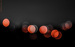 ENE_V-2 (HugoHugo Rodrguez) Tags: red bw color colors night lights la bokeh paz bolivia isolation isolated