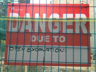 What is dangerous?