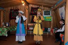 Celebration at Oymyakon's Mayor (Hannes Rada) Tags: girls russia celebration instrument yakutia oymyakon jawsharpe