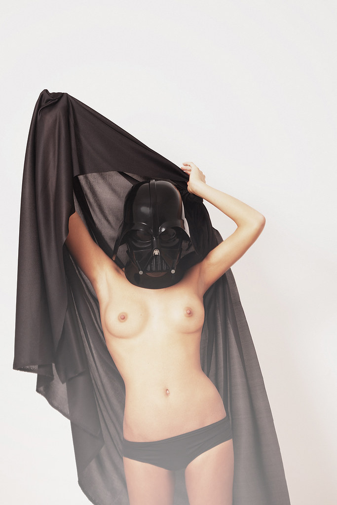 Darthvader With Naked Girl