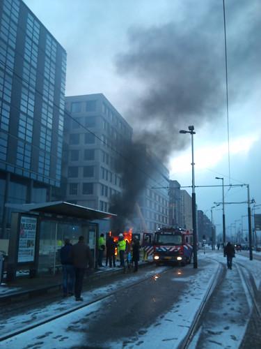 De reden dat #tram26 niet rijdt!? by visaap, on Flickr