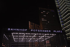 Berlin (sabin.ka) Tags: potsdamerplatz bahnhof berlin city traveling byhight architecture lights