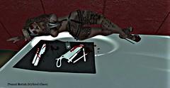 Peanut Buttah :: It's Hard To Say If I Went To Far :: (stylizedchaos) Tags: fashion hair tattoos gifts secondlife nana poses boysofsummer freebies urbanstreet littlebones slevents depravednation depravedevents suicidedollz glamistry chemicalprincess