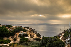 Sunrise and clouds (cee live) Tags: cloud cloudy clouds sunrise cliffs contrast headland canon flickr paths
