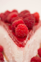 Sweet raspberry cheesecake (radebg) Tags: natural dessert crisp sweet slice pie background biscuit summer delicious homemade cooked decoration green garnish fruit cheese baked eating isolated mint art decor restaurant cheesecake culinary berry confection food plate healthy red gourmet treat close raspberry organic fancy bakery closeup cake freshness dairy nobody fresh cream pastry white
