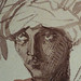 CHASSERIAU Théodore,1846 - Arabes (drawing, dessin, disegno-Louvre RF24410) - Detail 18