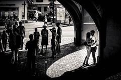 In a separate world (CS_in_CS) Tags: luzern stadt street canon blackandwhite schwarzweiss bnw streetphotography noiretblanc