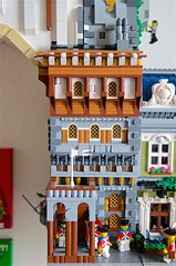 Florentine (mcmorran) Tags: lego bridge constantinebridge modularbuildings florentine