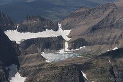 "Salamander Glacier and Upper Grinnell Lake from Mt. Siyeh • <a style=""font-size:0.8em;"" href=""http://www.flickr.com/photos/63501323@N07/28711156916/"" target=""_blank"">View on Flickr</a>"