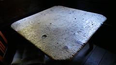 Dieser Tisch kann Geschichten erzhlen. (the_boomerang) Tags: rauris salzburg austria