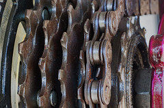 Cycling (ertolima) Tags: summerolympicsports macromondays bicycle chain gear speeds hmm macro sprockets