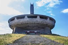 BUZLUDZHA-43 (RAFFI YOUREDJIAN PHOTOGRAPHY) Tags: buzludzha bulgaria spaceship soviet architecture ruin graffiti communist derelict abandoned relic distasteful building monument