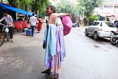 The Merchant of Everyman's Gamcha (Mayank Austen Soofi) Tags: delhi walla gamcha trader seller the merchant everymans everyman vendor
