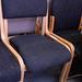 Wooden meeting chair
