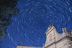 Convento de la Virgen de Gracia. (Siglo XVI) (jp50565) Tags: nikon santuario virngendegracia circumpolar d750 estels nocturna
