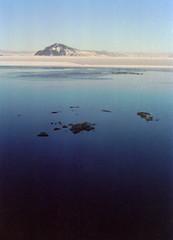 surface (asketoner) Tags: ice water lake myvatn iceland winter mountain volcano rocks surface